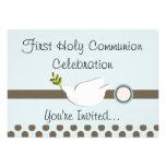 Primeras invitaciones de la comunión santa (chica) comunicados