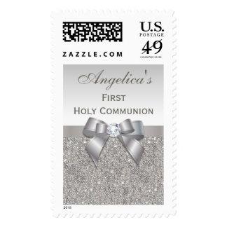 Primeras joyas, arco y diamante de la plata de la envio