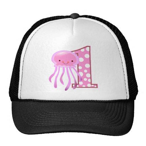 Primeras medusas del cumpleaños gorras