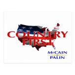 Primeras postales de John McCain Sarah Palin del p