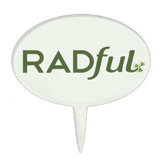 Primero adaptable de la torta del logotipo de Radf Palillos De Tarta