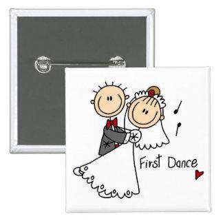 Primero camisetas y regalos del boda de la danza pin