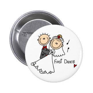Primero camisetas y regalos del boda de la danza pins