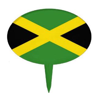 Primero de la torta con la bandera de Jamaica Decoraciones De Tartas