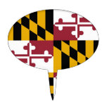 Primero de la torta con la bandera de Maryland, lo Decoraciones Para Tartas