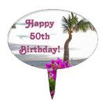 Primero de la torta de cumpleaños de la playa de M Decoraciones Para Tartas