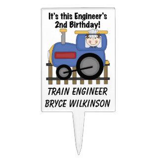 Primero de la torta de cumpleaños del ingeniero de figura de tarta