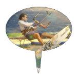 Primero de la torta de Kitesurfing Figuras De Tarta