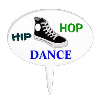 Primero de la torta de la danza de Hip Hop del zap Palillos De Tarta