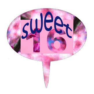 Primero de la torta del dulce 16 de la consideraci figuras para tartas