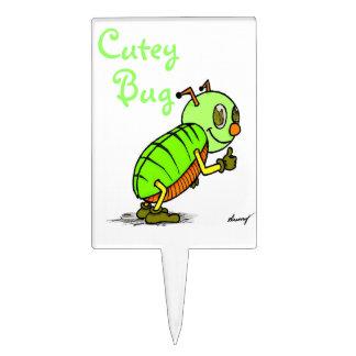Primero de la torta del insecto de Cutey Figura De Tarta