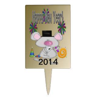 Primero de la torta del rectángulo del ratón del A Figura De Tarta