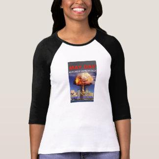 ¡Primero de mayo - libro uno de la camiseta Poleras