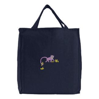 Primero del bolsillo del mono bolsas bordadas