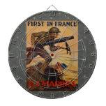 Primero en Francia Tablero Dardos