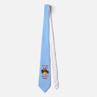 Primero estaba la corbata de Big Bang…