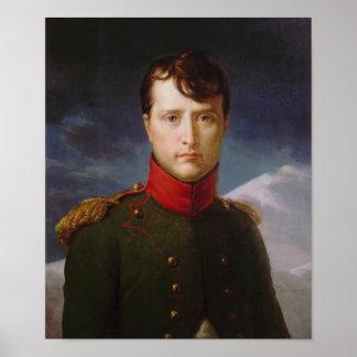 Primero ministro Consul de Napoléon Bonaparte Póster