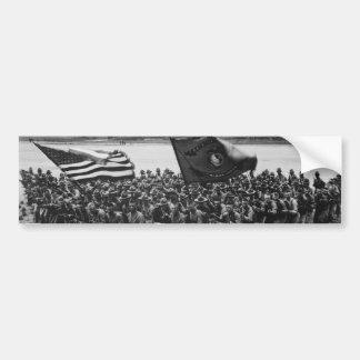 Primero para luchar al Cuerpo del Marines 1918 de  Pegatina De Parachoque
