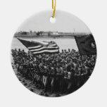 Primero para luchar al Cuerpo del Marines 1918 de  Ornamentos De Reyes Magos