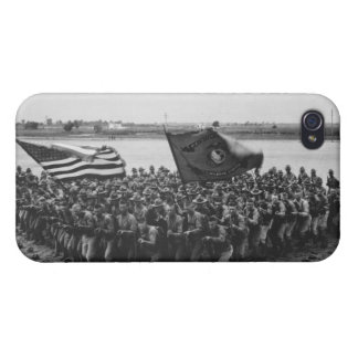 Primero para luchar - infantes de marina - 1918 iPhone 4 fundas