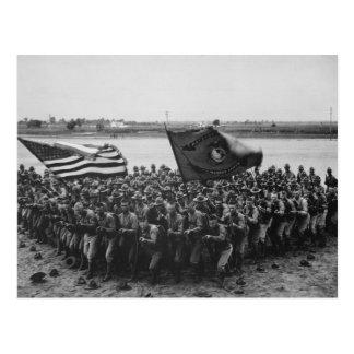 Primero para luchar - infantes de marina de los tarjetas postales
