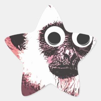 Primero pocas estupideces colcomanias forma de estrellaes personalizadas
