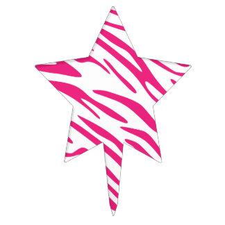 Primero rosado y blanco de la selección de la tort figuras para tartas