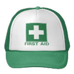 Primeros auxilios gorra