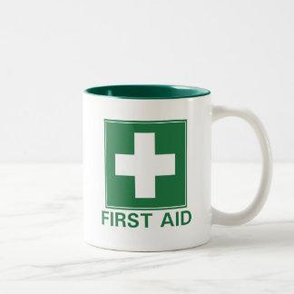 Primeros auxilios taza