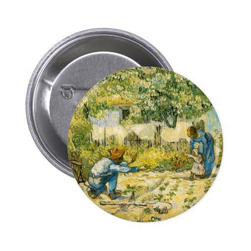 Primeros pasos de Vincent van Gogh 1890 Pins