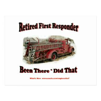 Primeros respondedores jubilados postal
