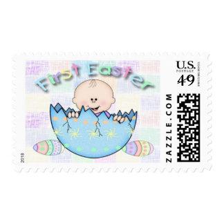 Primeros sellos del bebé de Pascua