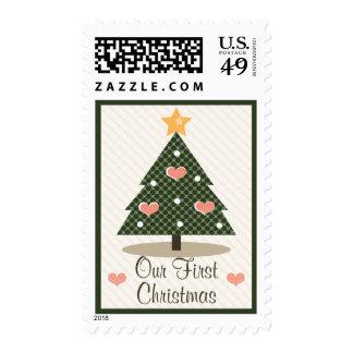 Primeros sellos del navidad