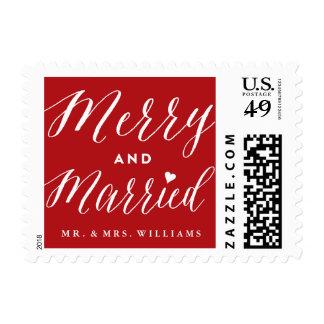 Primeros sellos felices y casados del día de