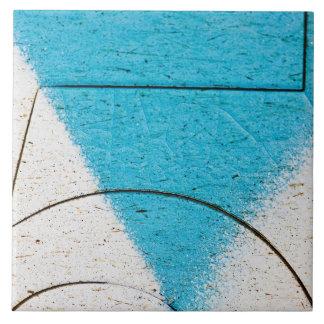 Primers de la pintada azulejo cuadrado grande