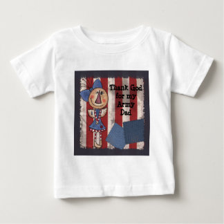 Primitive American Angel Baby T-Shirt