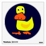 Primitive Art Duck Wall Decal