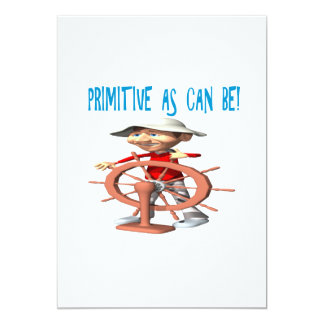 Primitive As Can Be Card