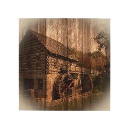 Old Barn Wood Wall Art | Zazzle