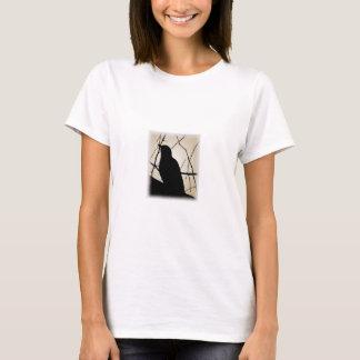 Primitive Bird Silhouette Picture T-Shirt
