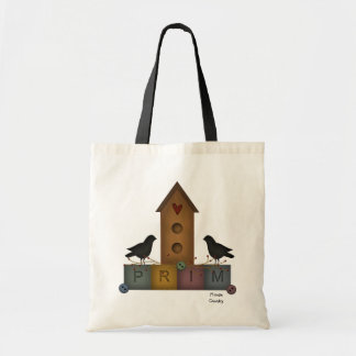 Primitive Birdhouse Bag