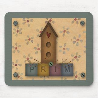 Primitive Birdhouse Mousepad