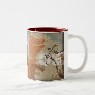 Primitive Buzz Two-Tone Coffee Mug