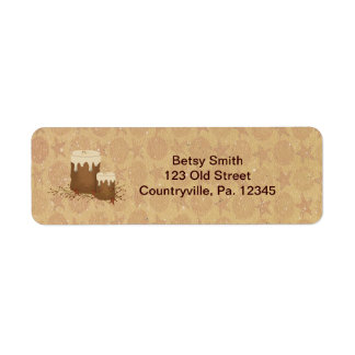 Primitive Candles Address Label