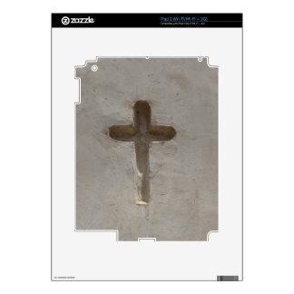 Primitive Christian Cross customize favorite Bible iPad 2 Decals