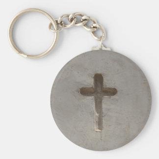 Primitive Christian Cross customize favorite Bible Keychain