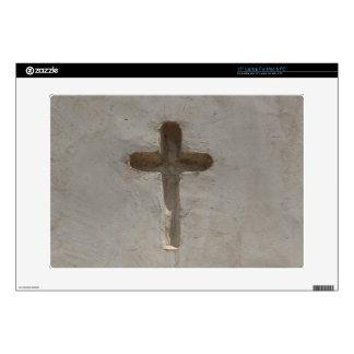 Primitive Christian Cross customize favorite Bible Laptop Skins
