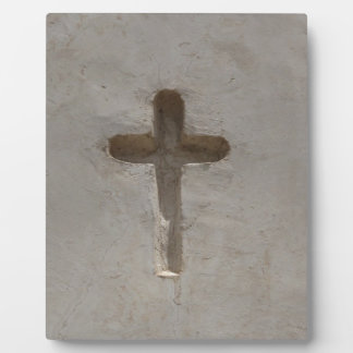 Primitive Christian Cross customize favorite Bible Plaque