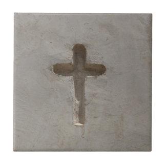 Primitive Christian Cross customize favorite Bible Tile