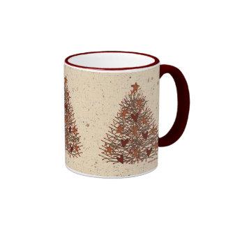 Primitive Christmas Tree Mug